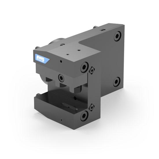 EWS  Statisches Werkzeug VDI30 Ausgleichhalter// Winkelaufnahme Links 85mm Höhe